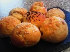 Greek Recipes, Light Recipes, Cheese Recipes, Cooking Recipes, Finger Foods, Food Processor Recipes, Healthy Snacks, Side Dishes, Muffin