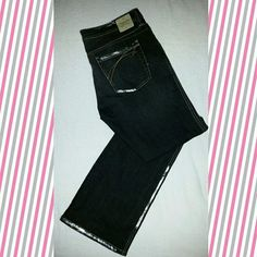 """Unionbay Jeans Dark blackish denim jeans with silver accents. 34"""" inseam. Please see pictures (: Unionbay  Jeans Straight Leg"""
