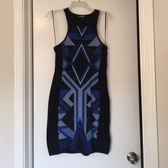 I just discovered this while shopping on Poshmark: Express Tribal Print Knee Length Dress. Check it out! Price: $25 Size: M