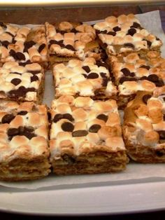 S'mores picnic bars