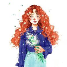 Minh hoạ mới #artwork #mywork #illustration #tranh_cua_xanda #tranhminhhoa #watercolor