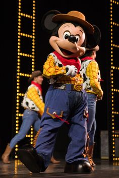 Best Woody Costume Prize Goes To… Mickey!!!!!
