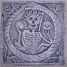 Ouroboros is something which Carl Jung refers to as an archetype; it seems to makes its way into our conscious mind time and time again in varying forms.