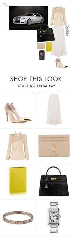 """High Flyer"" by maries on Polyvore featuring Gianvito Rossi, Topshop, Yves Saint Laurent, Hermès and Cartier"