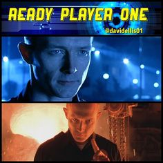 """An awesome Virtual Reality pic! Ready Player One Chapter 0002: -- ...my eyes would scan the lunchroom like a T-1000... -- """"Say... that's a nice bike."""" How awesome was Robert Patrick in """"Terminator 2: Judgment Day"""" (1991).  #readyplayerone #ernestcline #book #books #reading #videogame #film #movie #cinema #popculture #virtualreality #terminator #terminator2 #judgmentday #t1000 #robertpatrick #jamescameron #scifi #action by davidellis01 check us out: http://bit.ly/1KyLetq"""