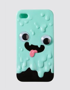 Doriburu iPhone Case by Drop Dead. The googly eyes move when the phone vibrates!