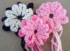 Crochet Flower Pattern – Morning Glory