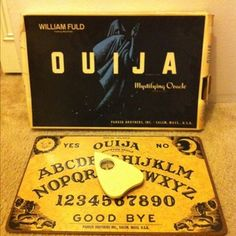 Vintage Ouija Board From 1960... I think when this came out almost everyone had to try it out...including my mom.. still have it..