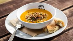 Sun Sentinel You Asked For It - Roasted butternut squash soup at Season's 52.