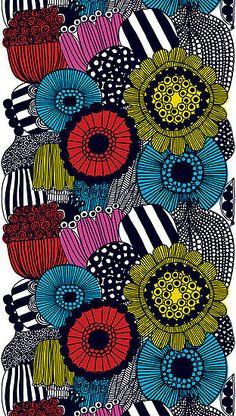 Marimekko Fall 2009 Fabric Collection