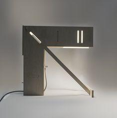 Lampade da tavolo - Vector. Table lamp of plywood - un prodotto unico di Leftsun su DaWanda