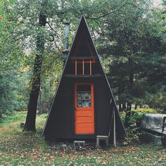 little A-frame house