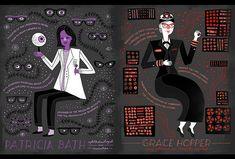 Women in science : Patricia Bath and Grace Hopper