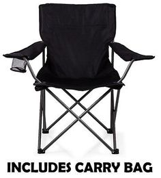Folding camping fishing chair seat with armrest cup #holder #foldable #beach gard, View more on the LINK: http://www.zeppy.io/product/gb/2/131870946032/
