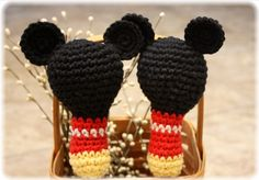 Baby Toy Rattle Inspired by Mickey Mouse