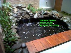 TUKANG KOLAM | JASA PEMBUATAN KOLAM | KOLAM IKAN KOI Tukang Taman Karya Alam Hp. 085214115220