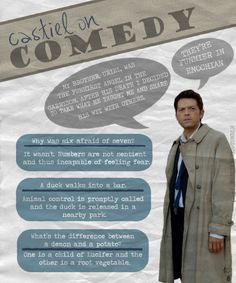 misha collins funny | FYeah! Misha Collins, I thought this was too funny not to reblog. ...