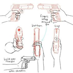 Gun perspective angle reference
