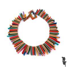 collana raggio di sole - rainbow corta di passaq su DaWanda.com