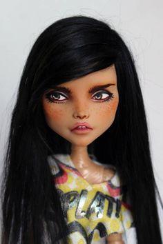 Monster High OOAK Cleo custom repaint doll