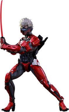 Raiden Inferno Armor Version Sixth-Scale Action Figure
