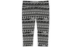 Look Stylish While You Get in Shape with Fun Fitness Gear Victoria's Secret Tribal Leggings! Black Leggings Outfit, Tribal Leggings, Legging Outfits, Japan Fashion, India Fashion, Fitness Gear, Summer Trends, Get In Shape, Workout Wear
