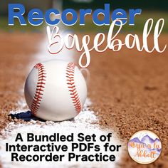 Recorder Baseball {A Bundled Set}
