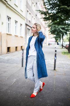 Street Style Inspiration für den Frühling #denim #looks #inspiration #berlin #wien #zalon #mode #stil #spring #frühling #kleider #streetstlye