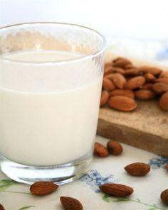 Make your own almond milk