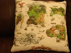 EverQuest Gold Edition Pillow by onlyifitspretty on Etsy