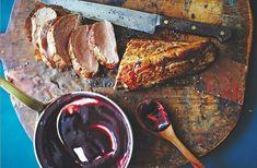 Cast-Iron Pork Tenderloin With Blackberry Bourbon Barbecue Sauce