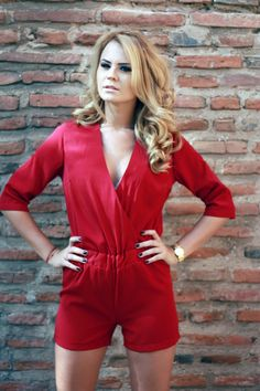 Red jumpsuit by TheITem  Facebook: https://www.facebook.com/theitem.co  Shop: www.theitem.co