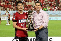 小笠原満男とジョルジーニョ スルガ銀行チャンピオンシップ 2012