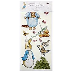 Meri Meri Peter Rabbit Wall Stickers, 50-Pack by Meri Meri, http://www.amazon.com/dp/B004S3LXAG/ref=cm_sw_r_pi_dp_ZCmRqb0M1XSMA