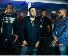 Diddy, French Montana, Drake