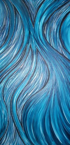 abstract - Blue River by Sowila