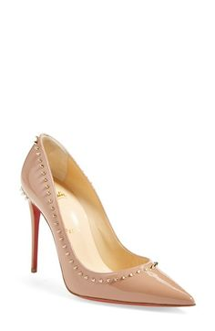 Christian Louboutin 'Anjalina' Pointy Toe Pump available at #Nordstrom