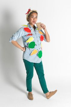 """""""Peter Piper Picked a Peck of Pickled Peppers"""" Halloween costume"""