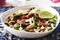 Lime and chilli beef
