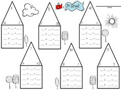 math worksheet : multiplicaiton and division fact family worksheets  educational  : Fact Families Multiplication And Division Worksheets