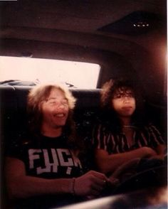 James Hetfield & Kirk Hammett...