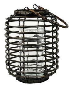 Look at this #zulilyfind! Round Willow Bottle Lantern by Galt International #zulilyfinds