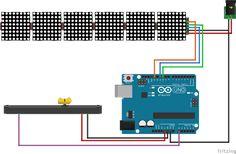 Max7219 Matrix Arduino