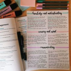 Teresa's studyblr Love how these three colors match together! I've used Stabilo pastel highlighters and Staedtler triplus fineliner pens (delft blue, light carmine and lavender). School Organization Notes, Study Organization, Motivation Letter, Study Motivation, Class Notes, School Notes, Pretty Notes, Good Notes, College Notes