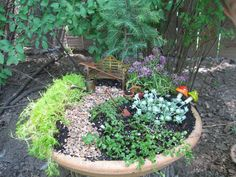 Fairy Garden - fun things to do with your kids when their young :)