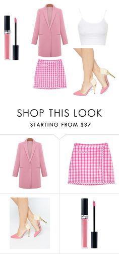 """""""Wednesday Wear Pink"""" by ninakrishna on Polyvore featuring Lilly Pulitzer, Paper Dolls, Christian Dior, Topshop, women's clothing, women, female, woman, misses and juniors"""