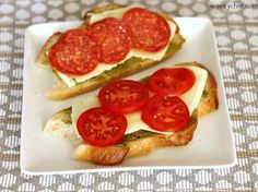 Pesto Pizza Grilled Cheese Sandwiches - The Weary Chef