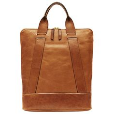 """Leather Backpack """"Heritage Brief"""""""