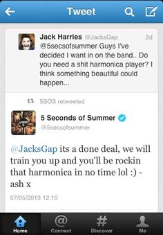 I CAN'T EVeN  NoW just imagine jack in 5sauce i LOVE them both SO Much