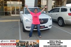 #HappyBirthday to Chrystyna from Kevin St. Louis at McKinney Buick GMC!  https://deliverymaxx.com/DealerReviews.aspx?DealerCode=ZAKC  #HappyBirthday #McKinneyBuickGMC